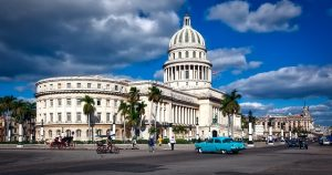 Havana Capitol via https://pixabay.com/en/havana-cuba-capitol-building-1613263/